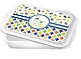 Boy's Space & Geometric Print Cake Pan (Personalized)
