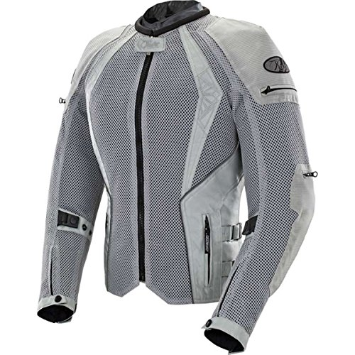 - Joe Rocket Cleo Elite Women's Mesh Street Motorcycle Jacket - Silver/Medium