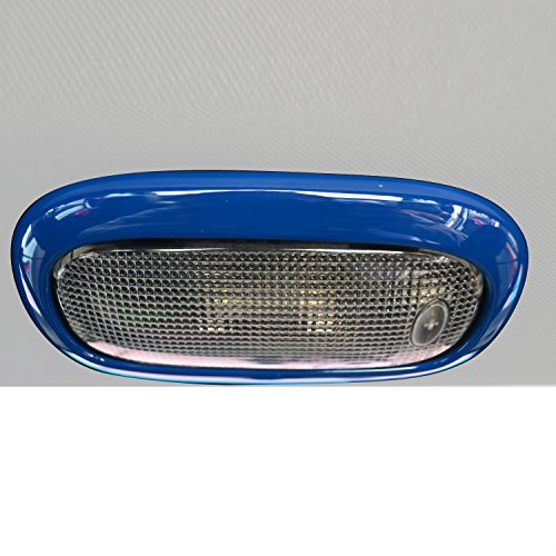 Opar Blue Reading Light Cover Trim for 2011 - 2018 Jeep JK Wrangler Unlimited 4-Door - Set