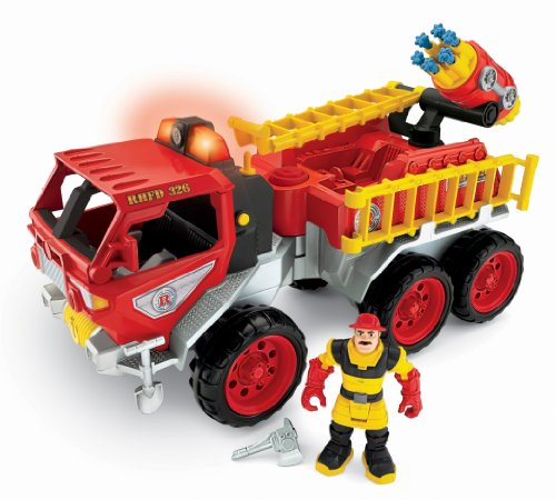 Fisher-Price Hero World Rescue Heroes Fire Truck With Billy Blazes