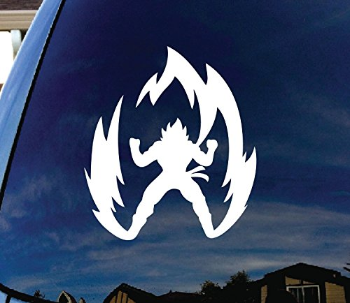 dragon ball car decal - 3