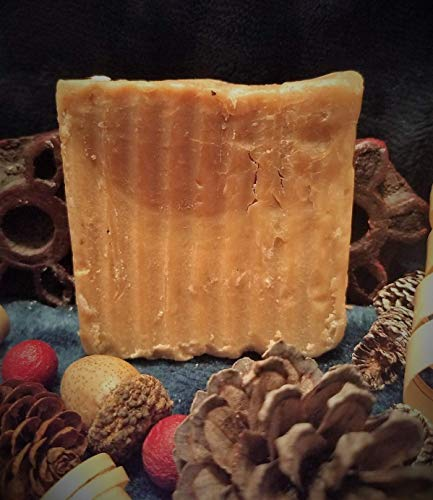 Elf Sweat (4.5 oz. bar) Homemade Goat's Milk Soap ()