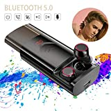 T9 TWS Wireless Bluetooth 5.0 Earbuds Stereo HiFi Noise Reduction Earphones with 6000mAh