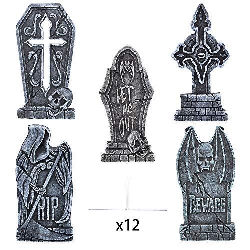 Large Halloween Tombstones - JOYIN 17