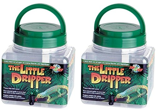 Zoo Med Labs Drip System - Little Dripper (2 Pack) by Zoo Med