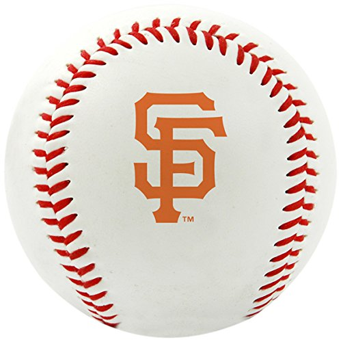 Rawlings MLB San Francisco Giants Team Logo Baseball, Official, White