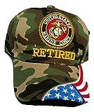 HMC US Marine Corps Retired Camo Low Profile Adjustable Ball Cap