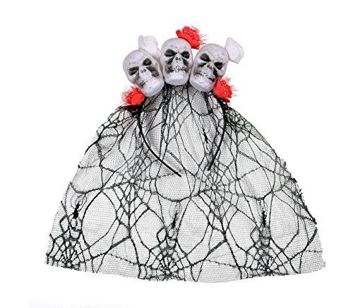 Skull Hair Hoops Halloween Costume Headbands Halloween Party (Halloween Vampire Hair)