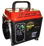1000W 2.0 HP Gasoline Generator w CARB Approved Design & 1.2 Gal Tank