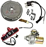 NEW HONDA GX270 9HP ELECTRIC START KIT STARTER MOTOR & SOLENOID ON/OFF SWITCH