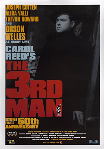 The Third Man 50th Anniversary Poster