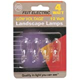 Feit Electric BPLV522/4/RP 11 Watt Low Voltage Landscape Light Bulbs 4 Count