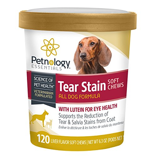 Petnology Tear Stain Support Soft Chews, 120 Count
