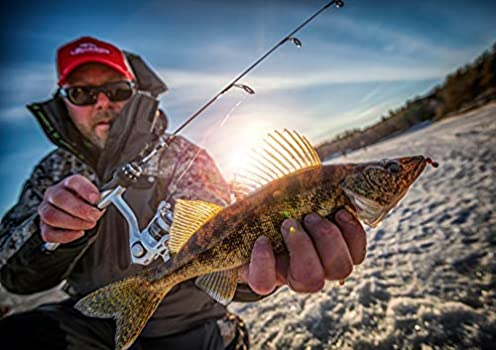 "UGLY STIK GX2 Ice Fishing Jigging Rod 30/"" Heavy"