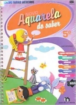 Book Aquarela do Saber Integrado. Novo. 5º Ano