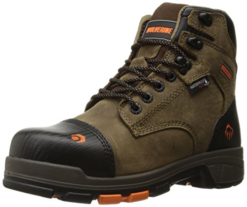 Wolverine Men's Blade LX Waterproof 6' Comp Toe Work Boot