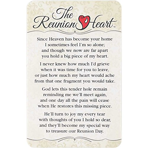Pocket Card Bookmark Pack of 12 - The Reunion - Reunion Heart Bookmark