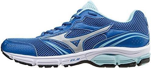 de Impetus Femme Mizuno Mini gris Wave 3 Chaussures Course nbsp;WOS Bleu roi BawSqY