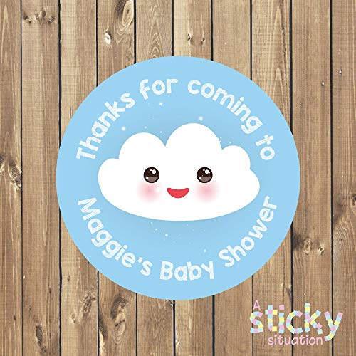 Personalized Baby Shower Stickers Personalized Baby Shower Labels Baby Shower Tags New Baby Stickers Kawaii Stickers Baby Shower Favors -