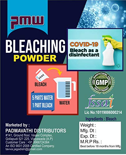 PMW Powerful Bleaching Powder Calcium HypoChlorite, 1 kg Price & Reviews