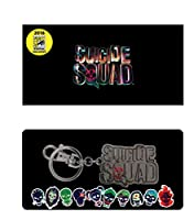 DC Suicide Squad Logo Pewter Key Ring SDCC Exclusive 2016 Action Figure