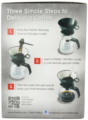 Melitta Coffee Maker Not Working : Melitta Coffee Maker, 6 Cup Pour-Over Brewer with Glass - Import It All
