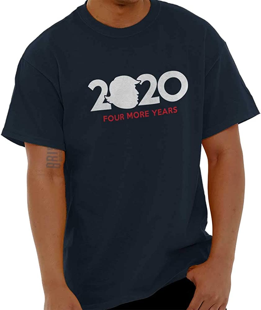 4cee24e6 2020 Four More Years Donald Trump President T Shirt Tee Navy ...