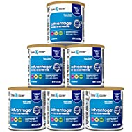 Love & Care Advantage Infant Formula Milk-Based Powder with Iron Non-GMO, 12.4 Ounce (Pack of 6)