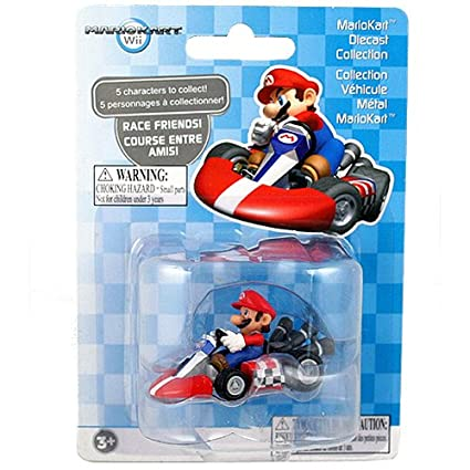 Amazon.com: MarioKart Diecast Collection [Mario]: Toys & Games