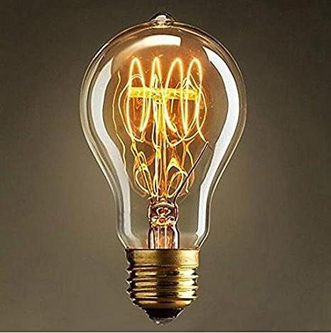 Exceptionnel Julitech BulbVintage B22 Bayonet Filament Light Bulb 60W Art Deco Retro  Edison Light Bulb / A19     Amazon.com