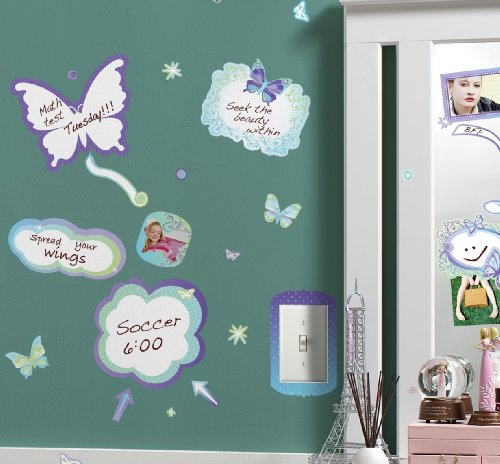 Nursury Peel & Stick Wall Sticker Decals - Butterfly Memos Dry -