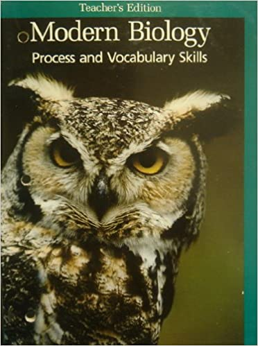 Teacher's Edition Process and Vocabulary Skills (Modern Biology)