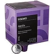 Amazon Brand - 50 Ct. Solimo Espresso Pods, Apulia, Nespresso OriginalLine Compatible Capsules
