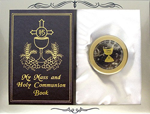 My Mass and Holy Communion Missal and Rosary with Case First Communion Gift Set for Boys