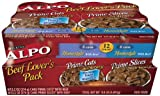 ALPO Prime Beef Lovers Dog Food Variety Pack, 9.90-Pound