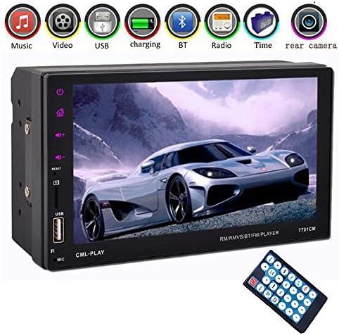 "eaglerich車ラジオ2DIN 7""タッチ画面車mp5mp4BluetoothハンズフリーFM / TF / USB GPSミラーリンクAndroid電話12V XZCP-CZBFR480"