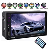 Eaglerich Car radio 2 din 7'' Touch Screen Car MP5 MP4 Bluetooth hands free FM/TF/USB For Android Phone Mirror Link 12v