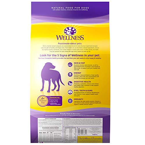 Wellness Complete Health Natural Dry Dog Food