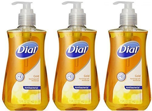 Dial Gold Liquid Hand Soap (3 Pack) 7.5 oz