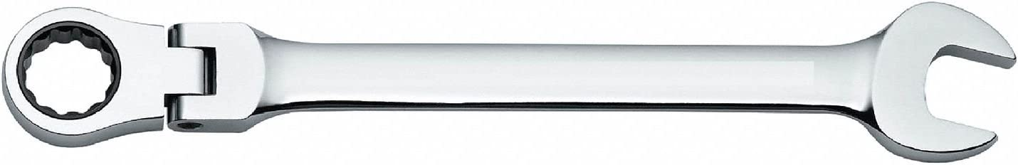Full Polish Finish Number of Points: 12-1 Each Metric Westward 19mm Ratcheting Combination Wrench