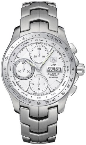 TAG Heuer Men's CJF211B.BA0594 Link Automatic Chronograph Day-Date Watch
