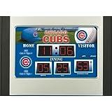 MLB Chicago Cubs Scoreboard Desk Clock