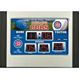 MLB Chicago Cubs Scoreboard Desk Clock