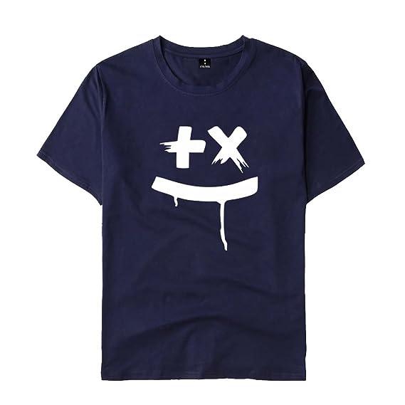 SIMYJOY Pareja DJ Martin Garrix Fans Camiseta Sonido Eléctrico Tshirt Cool GRX Top para Hombre Mujer Adolescente: Amazon.es: Ropa y accesorios