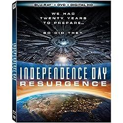 Independence Day Resurgence(Bluray+DVD+Digital HD) [Blu-ray]