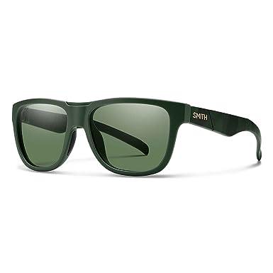 5b51f8d9b3 Smith Optics Adult Lowdown Slim Matte Olive Camo Frame Gray Green Lens  Polarized Sunglasses