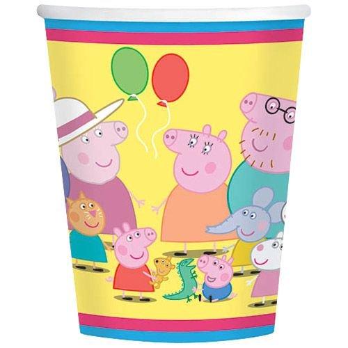 Peppa Pig 9 oz. Paper Cups - 8