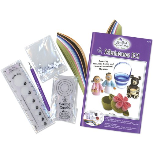 Quilling Kit - Miniatures 101 1 pcs sku# 662583MA by Quilled Creations