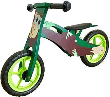 Amazon.com: Fácil Moto – -Mono -- Madera Niños entrenamiento ...