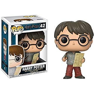 Funko Pop Movies Potter-Harry w/ Marauders Map w Toy,Multi-colored